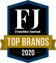 Franchise Journal Top Brand 2020 Logo