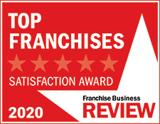 Franchise Business Review Logo - Top Franchises Satisfaction Award 2020