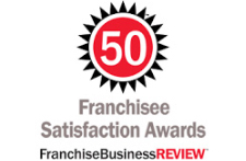 Franchise Business Review Logo - 2014 Franchisee Satisfaction Award Winner
