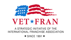 Vet Fran Logo - A strategic initiative of the International franchise association since 1991