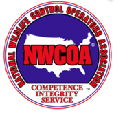 National Wildlife Control Operators Association Logo - Competence, Integrity, Service